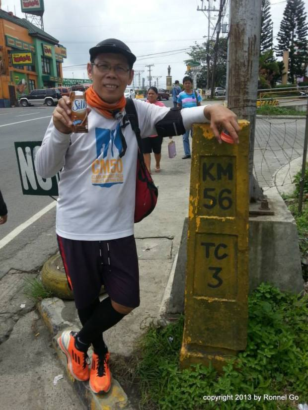 Visit again to the KM 56 Marker of Tagaytay